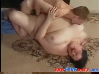 Ugly old village BBW fucking anorectic chap